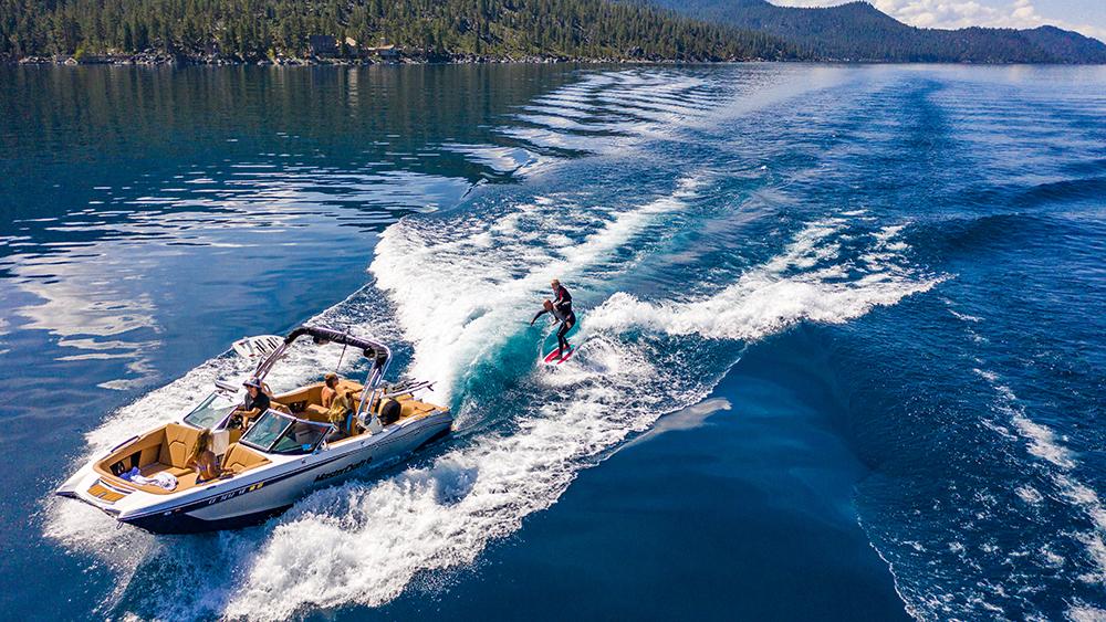 MasterCraft Ritz-Carlton Lake Tahoe Northstar resort