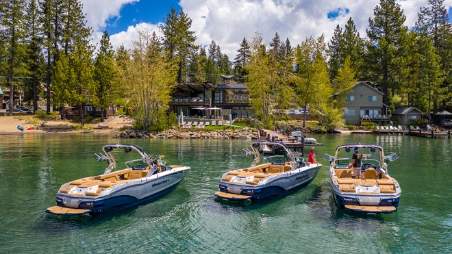 MasterCraft powerboat Ritz-Carlton Lake Tahoe Northstar resort