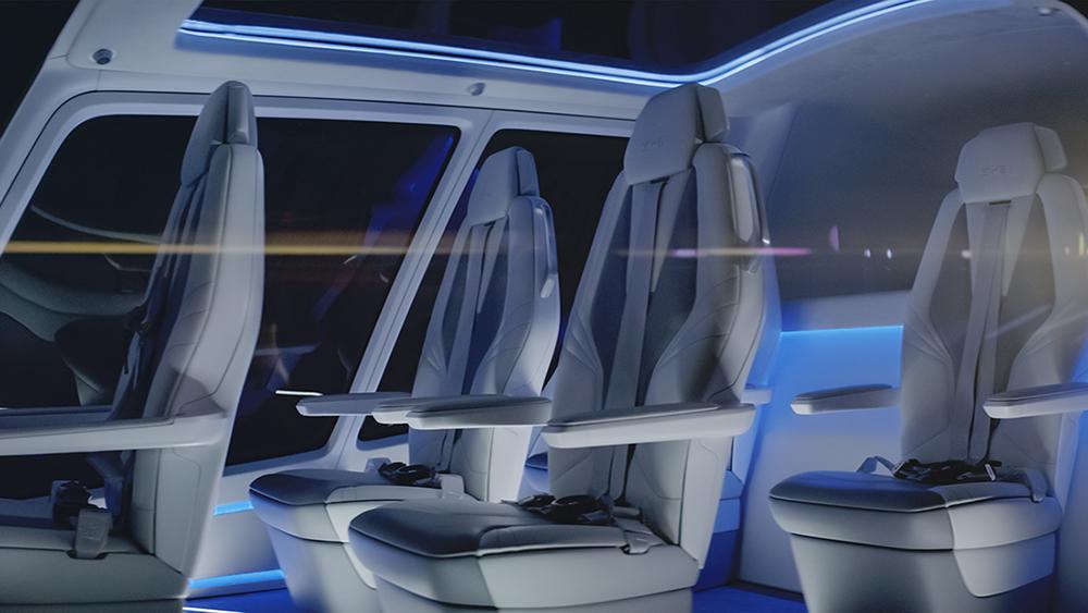 Alaka'i Skai rotorcraft personal mobility vehicle fuel cell zero emissions