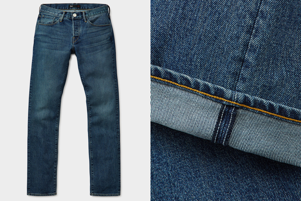 A new pair of jeans from 3x1 make for a great Father's Day gift.