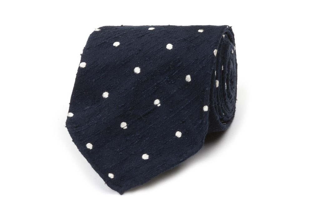 A great new tie from Drake's makes for a great Father's Day gift.