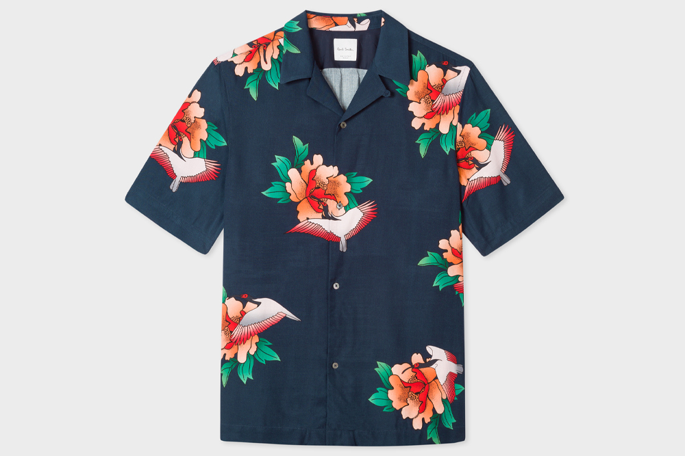 Paul Smith's floral camp collar shirt would make a great Father's Day gift