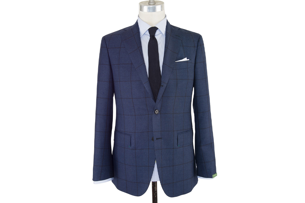 A suit with personality from Sid Mashburn makes for a great Father's Day gift.