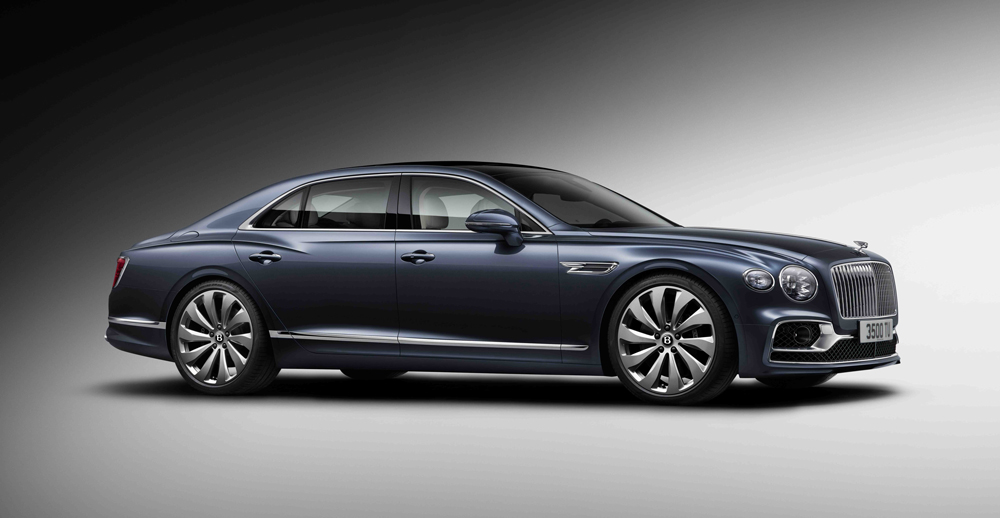 The new Flying Spur soars from zero to 60 mph in 3.7 seconds.