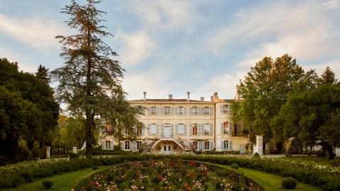 Chateau d'Estoublon in Provence, France
