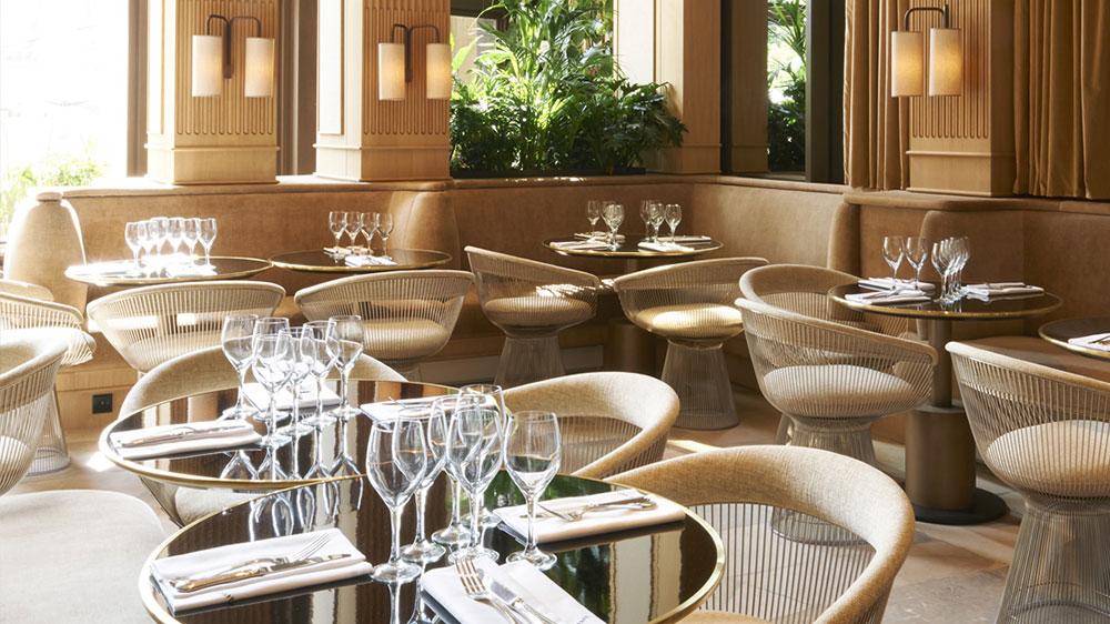 Girafe restaurant in Paris