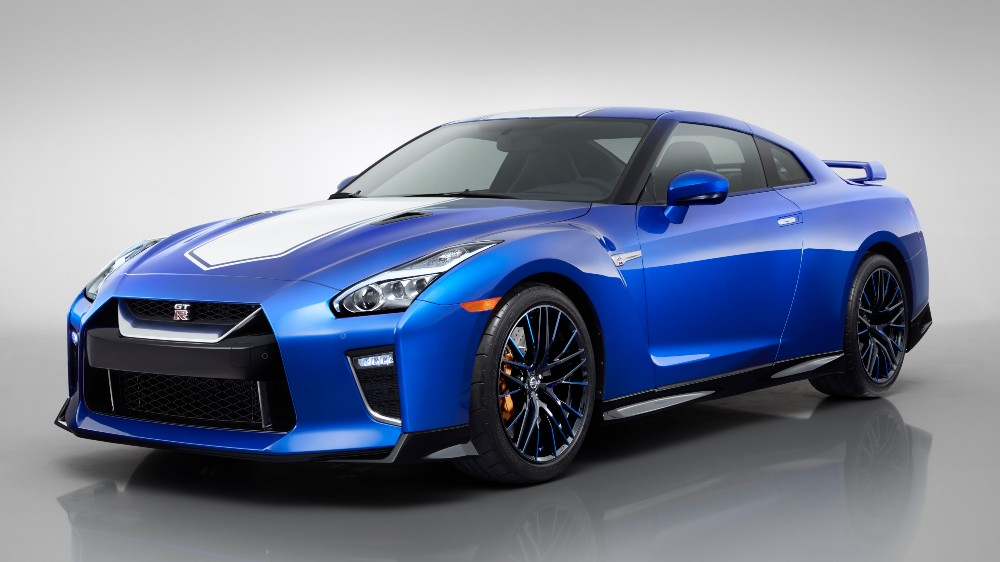 The 2020 Nissan GT-R 50th anniversary model