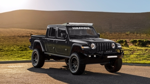 Hennessey Performance's Jeep Gladiator: Maximus 1000