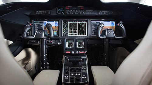 HondaJet Elite Cockpit