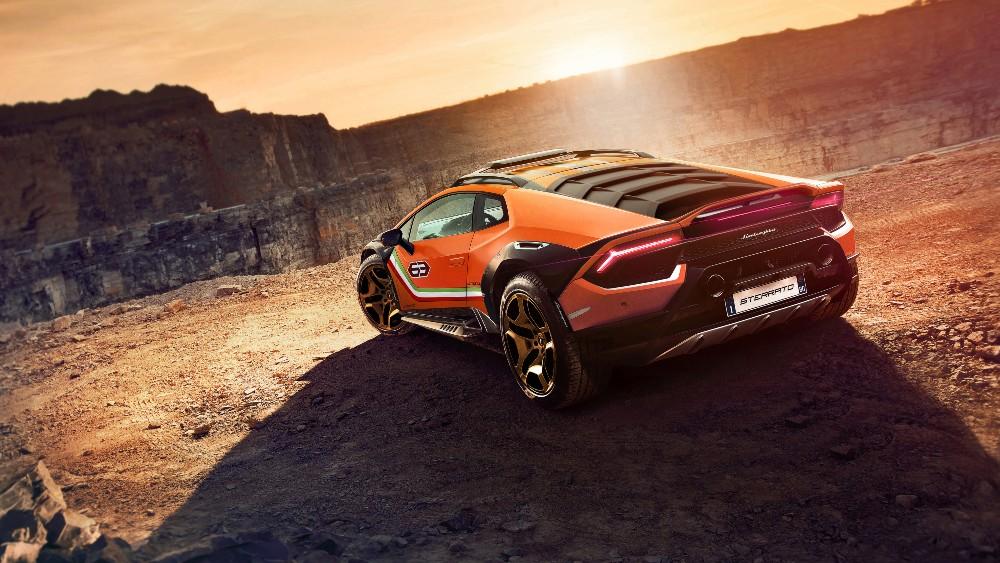 The Lamborghini Huracán Sterrato Concept