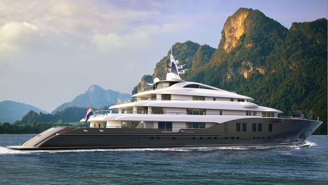 Icon Yachts's New Megayacht Icon 280