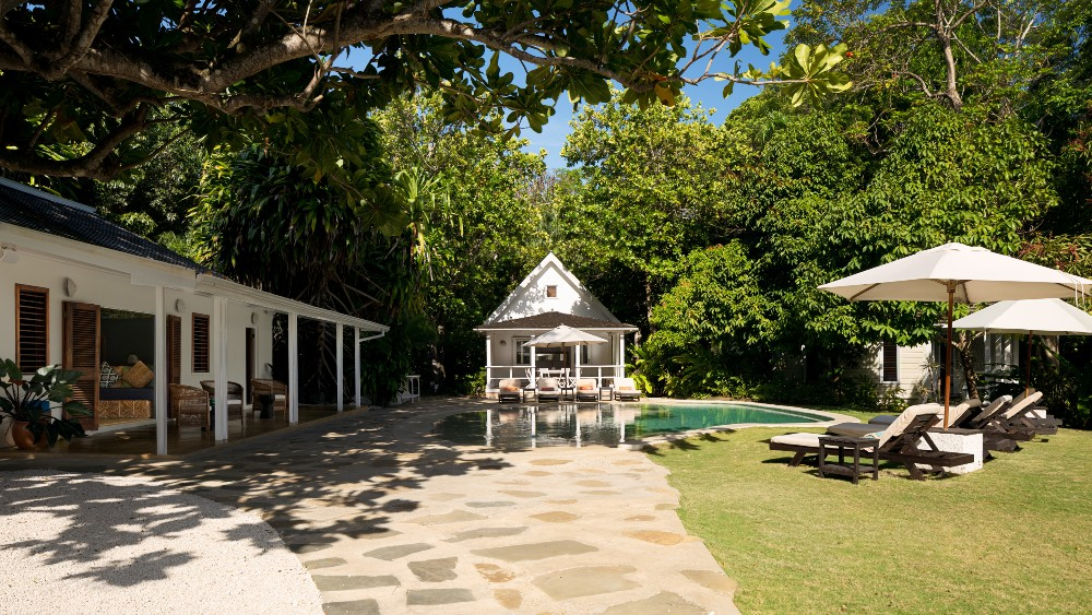 The Fleming Villa in Oracabessa, Jamaica