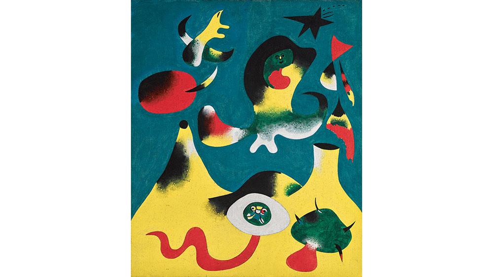 Joan-Miró-Peinture-L'Air-1938