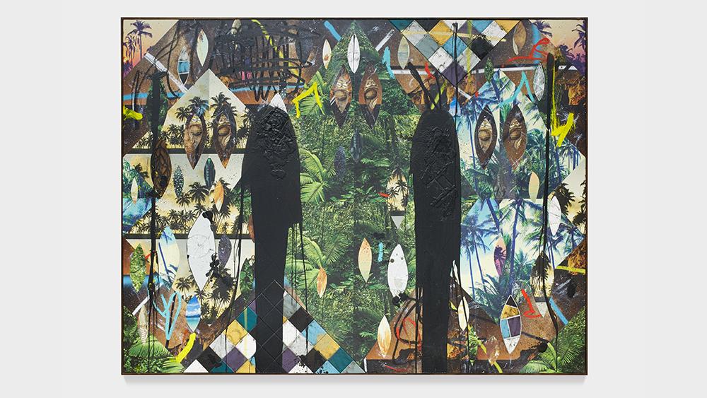 Rashid Johnson, Untitled Escape Collage, 2019