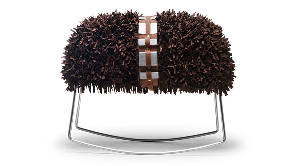 Chewie rocking stool