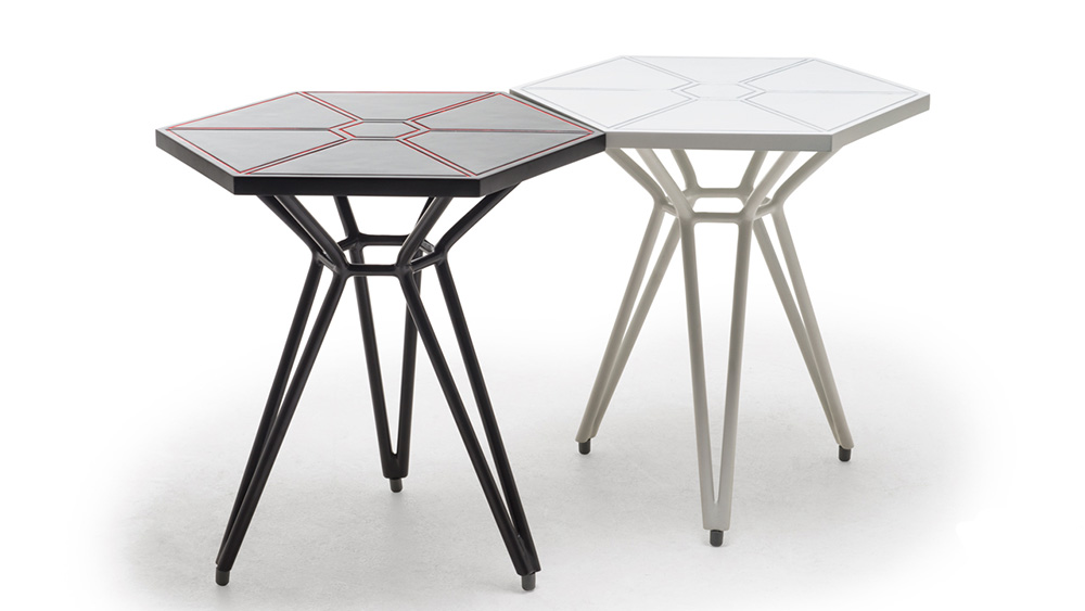 IMPERIAL TIE FIGHTER WINGS END TABLE