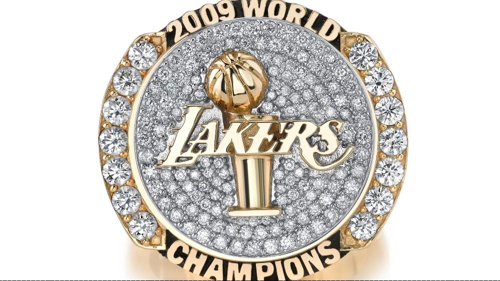 2009 Los Angeles Lakers NBA Championship ring