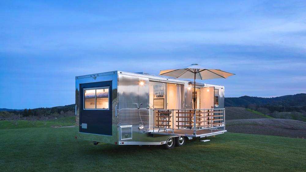 A Living Vehicles camper