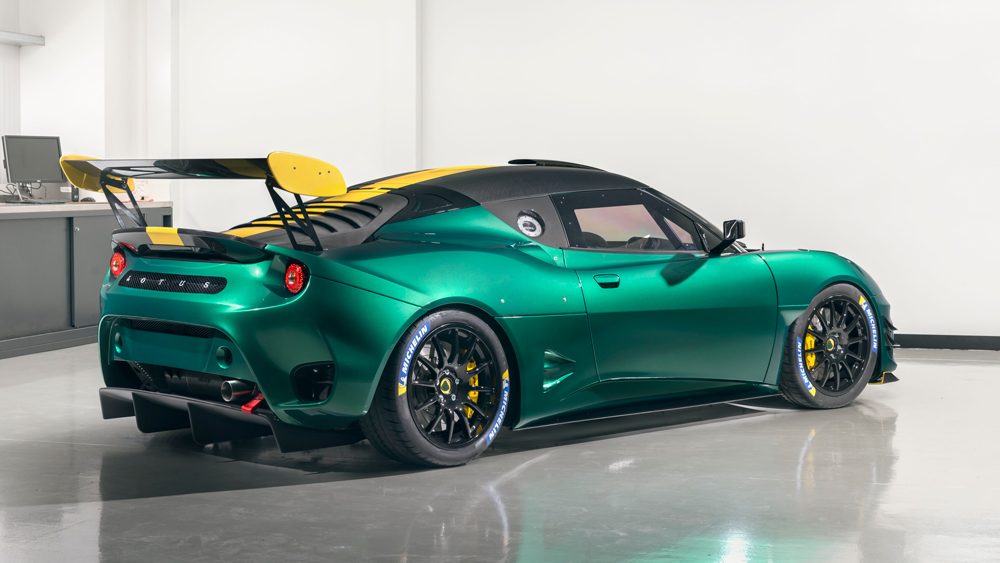 The Lotus Evora GT4 Concept.