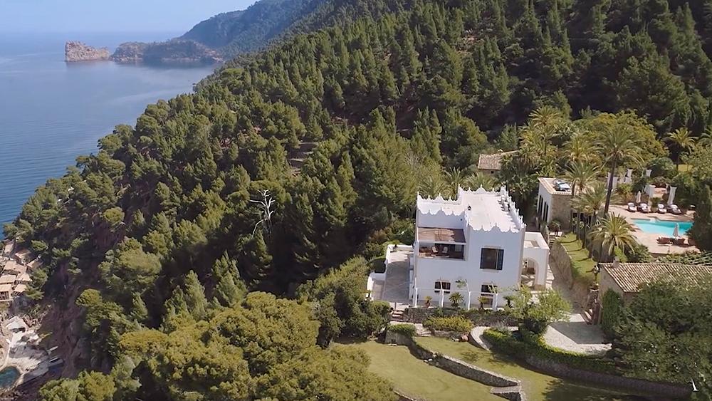 Michael Douglas majorca estate
