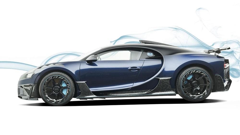 The Bugatti Mansory Centuria