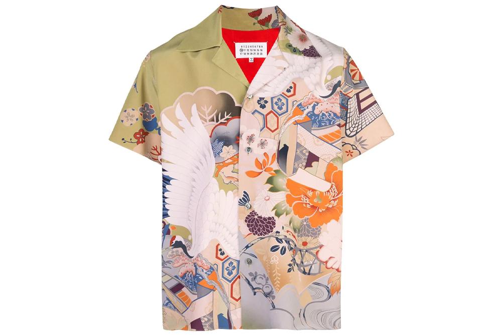 Margiela Camp Collar Shirt