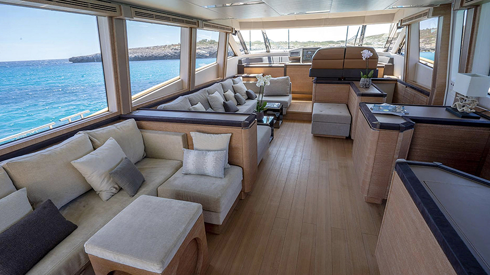MCY 76 yacht Rafael Nadal