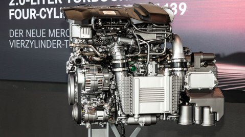 Mercedes-AMG's new 416 hp engine