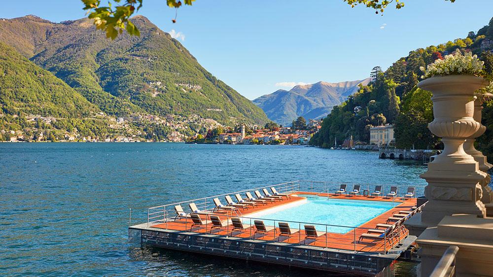 The Floating Pool at Mandarin Oriental, Lago di Como