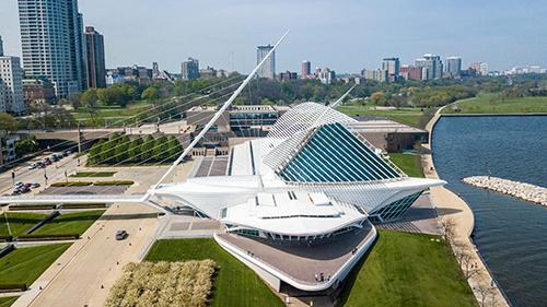 Quadracci Pavilion at the Milwaukee Art Museum
