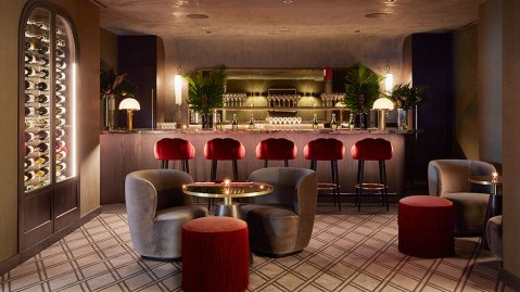 The Champagne bar at Nexus Club New York