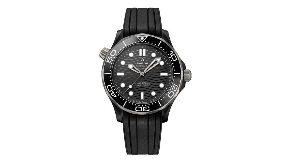 Omega 300m Diver in Titanium