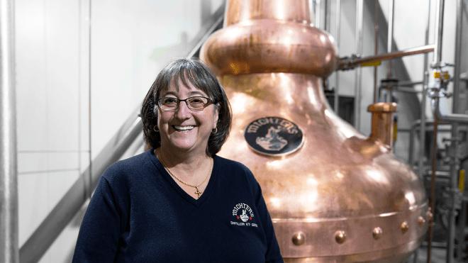 Michter's master of whiskey Pam Heilmann