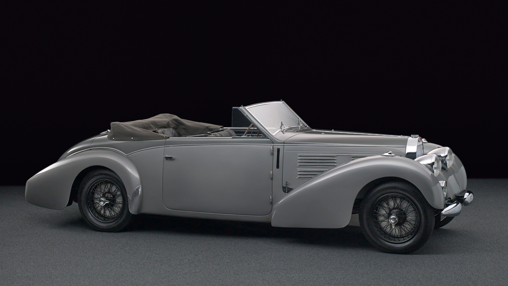 A Bugatti Type 57C Stelvio.