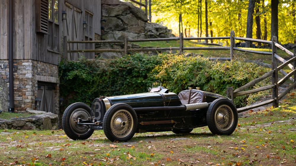 A 1934 Bugatti Type 59 Grand Prix.