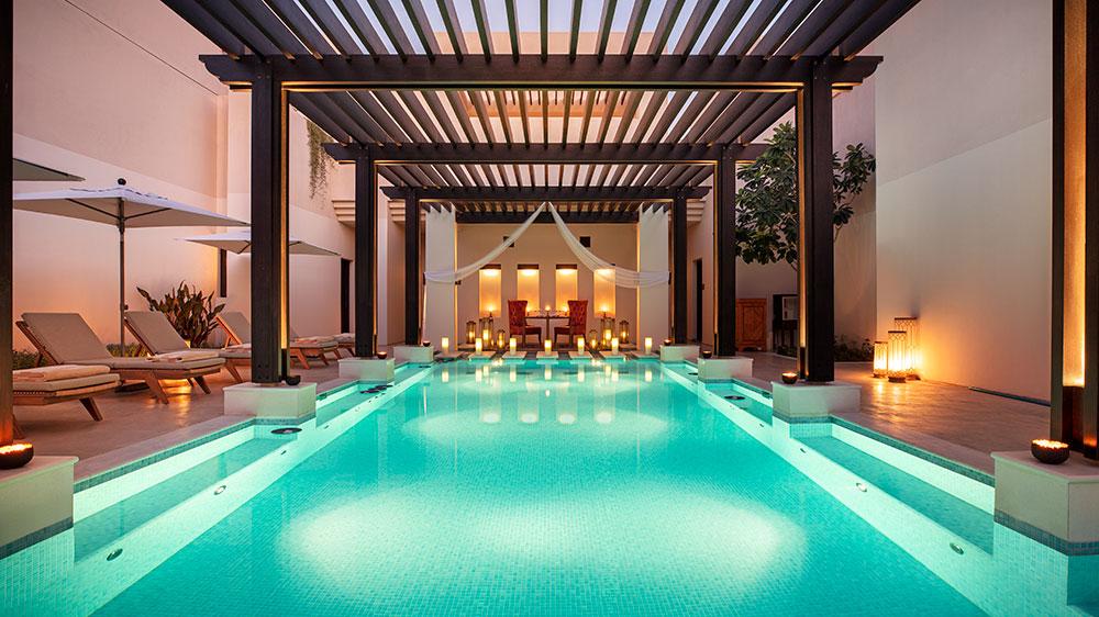 Al Bait Sharjah pool