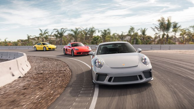 Porsche's LA Experience Center
