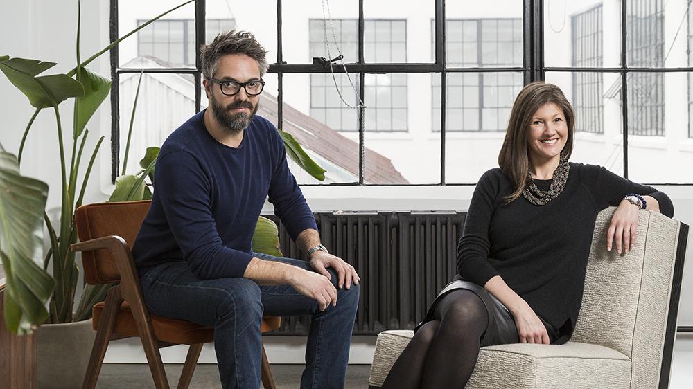 Amanda and Sebastian Reant of design brand Luteca