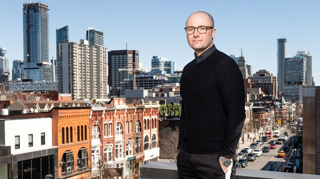 Michelin-pedigreed chef Patrick Kriss, creator of Alo, the top-rated restaurant in Toronto