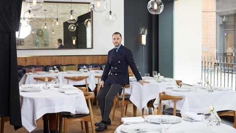 Chef and restaurateur Jason Atherton