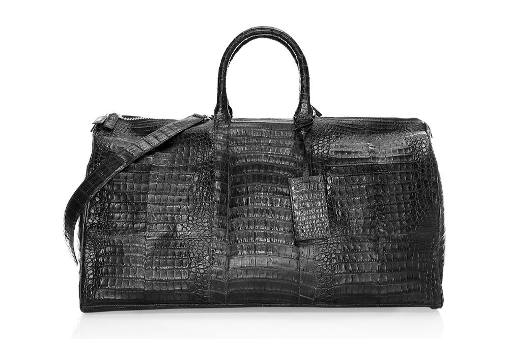 Santiago Gonzalez Crocodile Duffle Bag