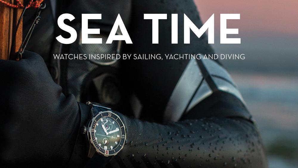 Sea Time By Aaron Sigmond and Mark Bernardo