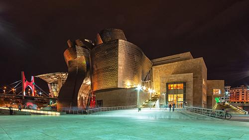 The Guggenheim Museum in Bilbao