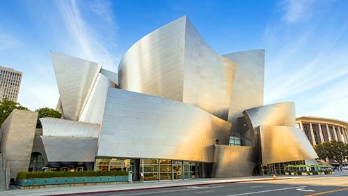 Walt Disney Concert Hall in LA
