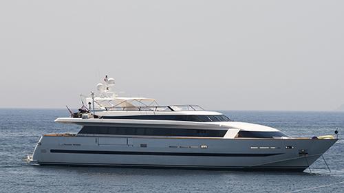 Eric Clapton's Yacht Va Bene