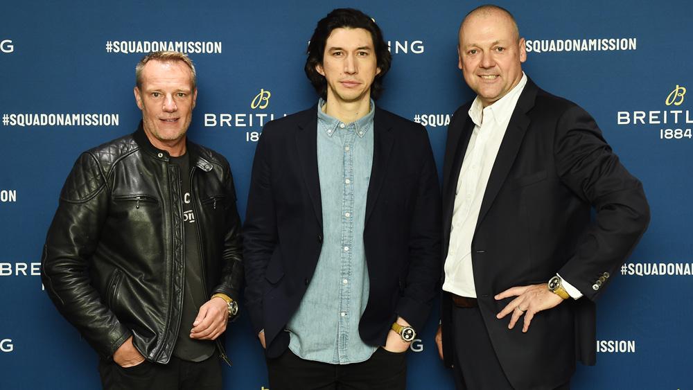 Stuart Garner, Adam Driver, Thierry Prissert