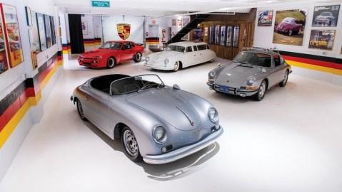 The late John Dixon's Taj Ma Garaj collection of rare Porsches