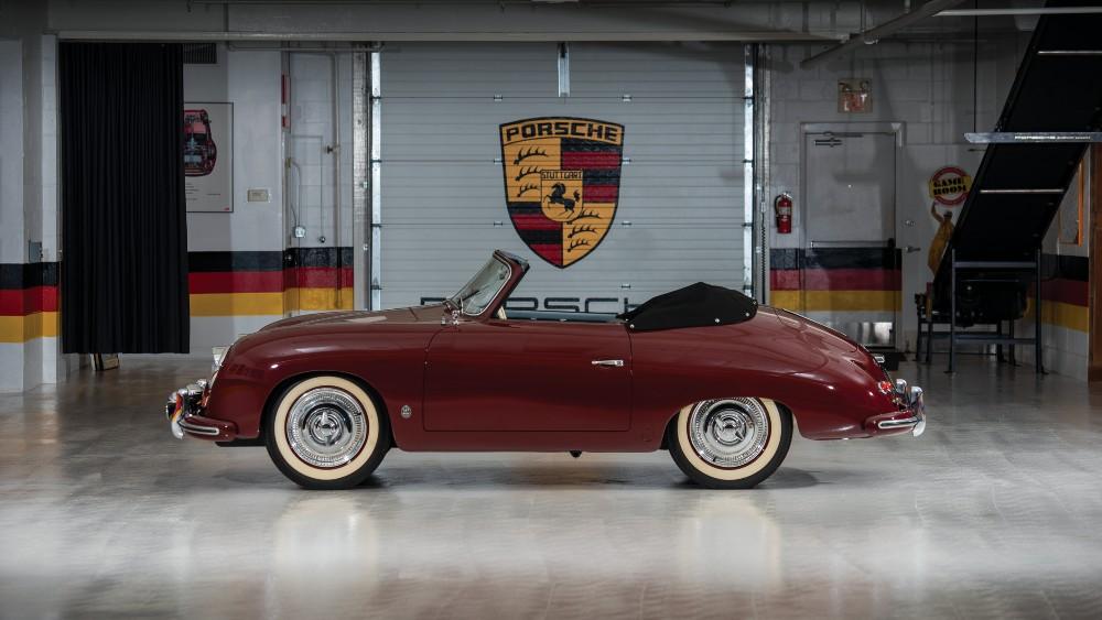 1952 Porsche 356 Cabriolet by Gläser