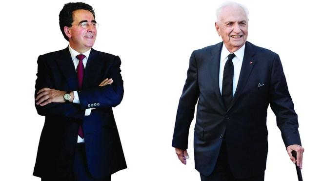 Architects Santiago Calatrava and Frank Gehry