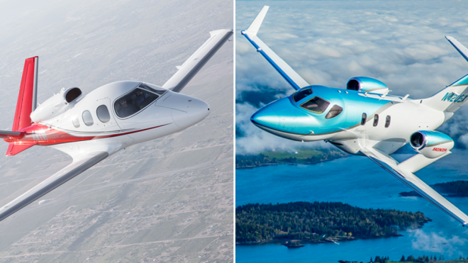 The Duel: Cirrus G2 Vision Jet vs HondaJet Elite